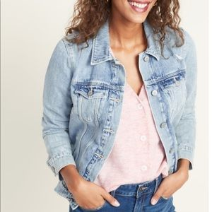 Gap limited edition light wash jean jacket